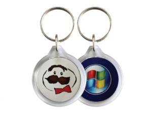 Round Acrylic Keychain