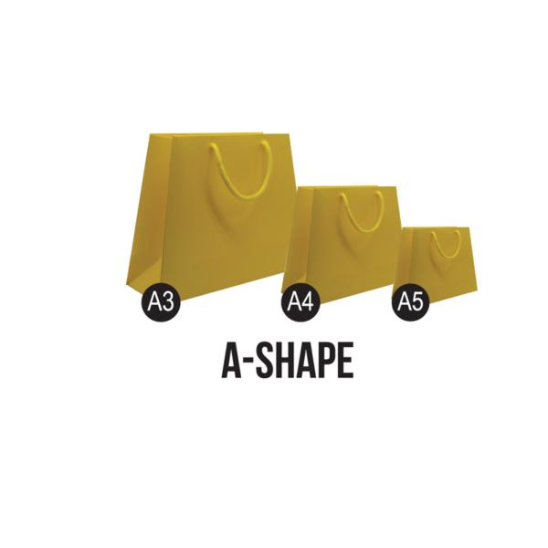 A-shape Paper Bags