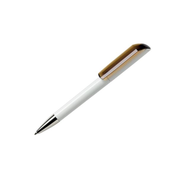 Personalised Pens Maxema Flow Transparent Lemon Green
