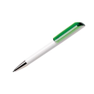 Personalised Pens Maxema Flow Transparent Aqua Green