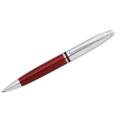 Calais – Chrome/ Red Ballpoint Pen