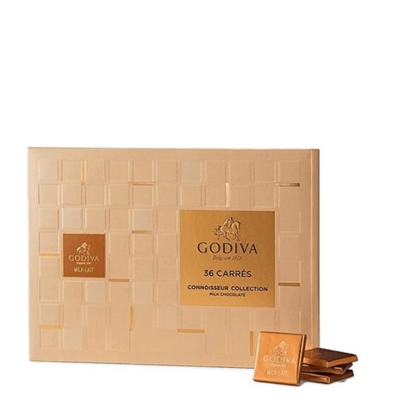 Godiva Milk Chocolate Carres 36 pieces
