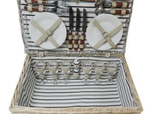 The Sandbanks Picnic Basket for Six