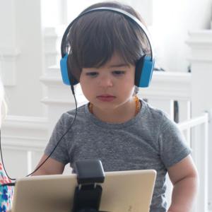 KENU Groovies Kids Stereo Headphones Blue