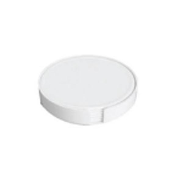 Tea Coaster White Colors