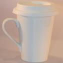 Ceramic Mug Hot With Handle & Cover