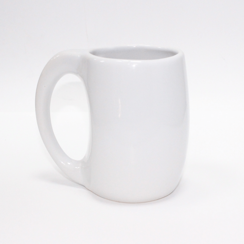 Ceramic Mug White New