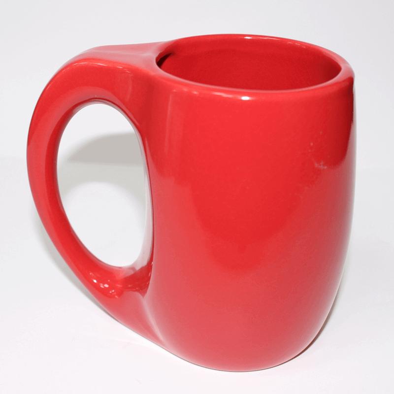 Ceramic Mug Red