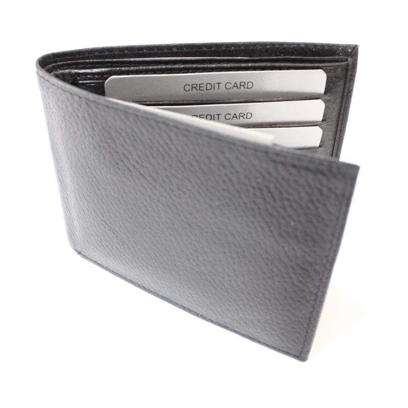 Black Genuine Leather Wallets