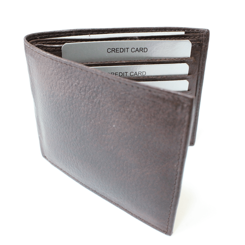 Brown Genuine Leather Wallets