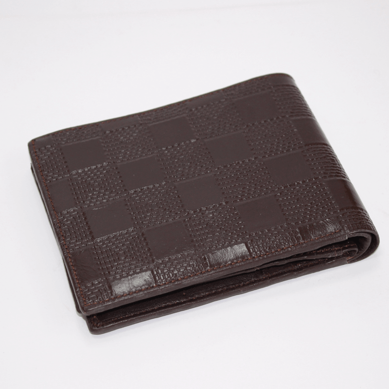 Leather Gents Wallet Black
