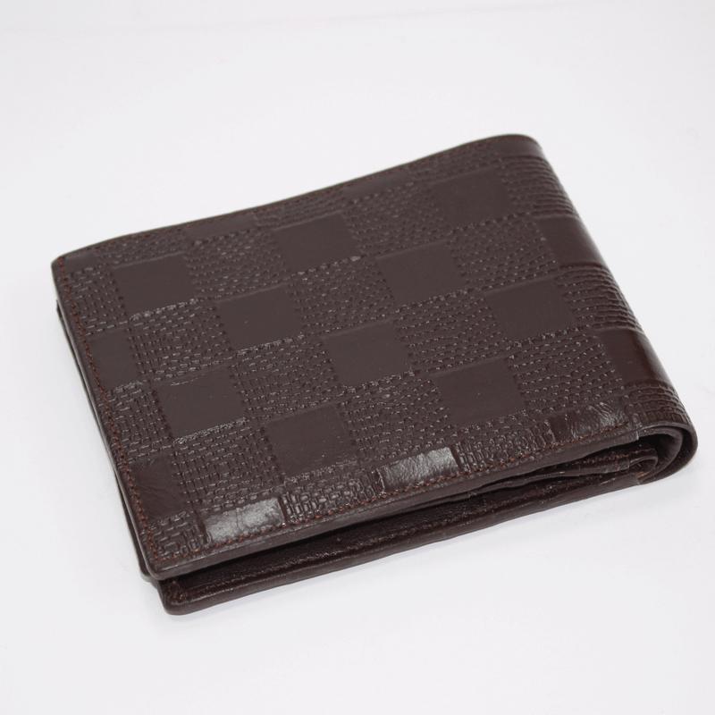 Leather Gents Wallet Black