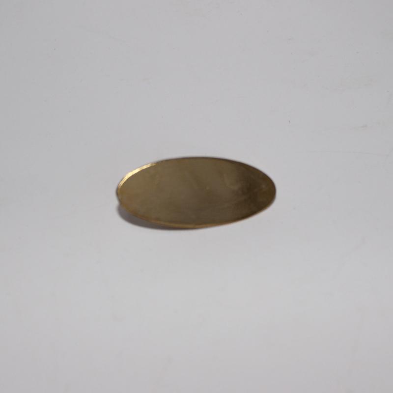 Mer Gold Metal Pin