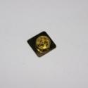 Mer Gold Metal Pins