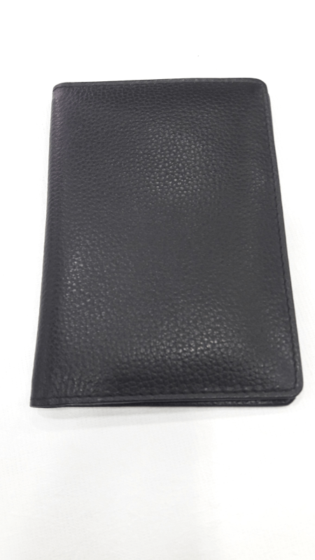 Passport Holder Black