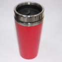 Steel Mug Red