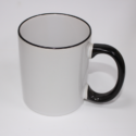 Sublimation Mug White/black