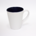 Sub Mug Inner Blue/white Outside