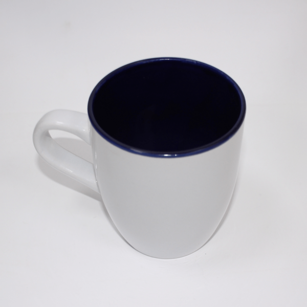 Sublimation Mug Inner Blue/white Outside