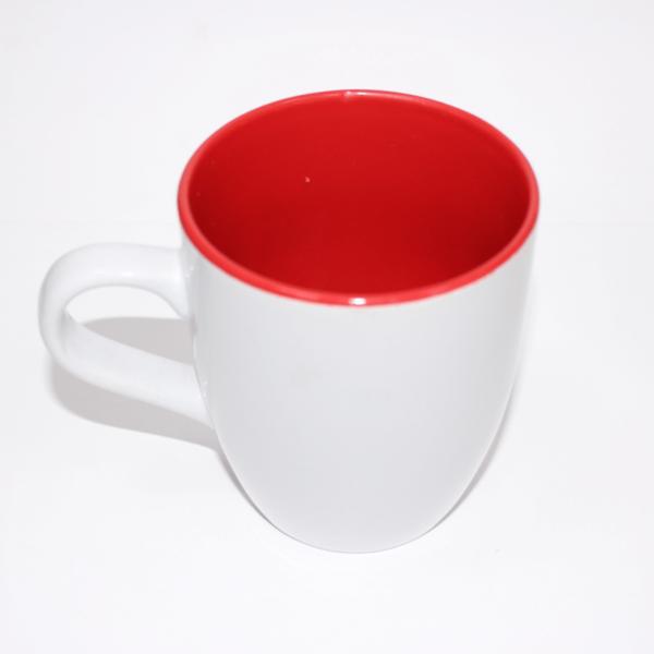 Sublimation Mug Inner Red/white Outside