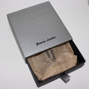 Gentstan Wallet With Black Box & Slv