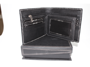 Leather Wallet Black