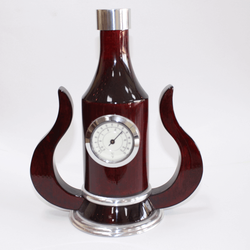 Bottle Shape Desk Clock Setkw