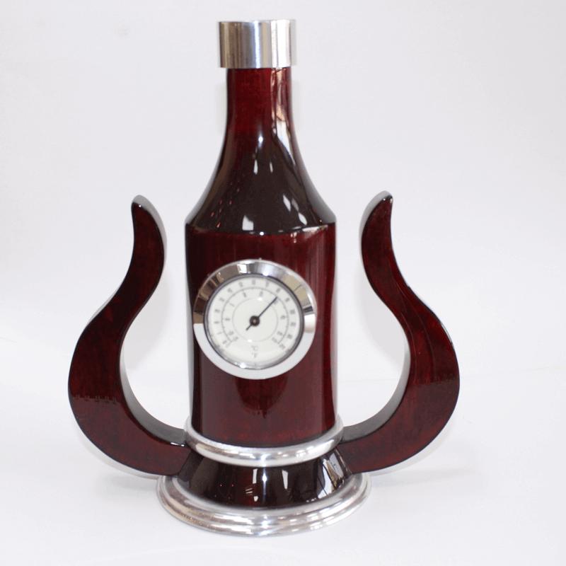 Bottle Shape Desk Clock Setkw