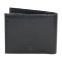 Pu Gents Wallet Valentino Black With Khaki Box