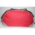 Pu Mattu Gym Bag With Shoe Compartment Red