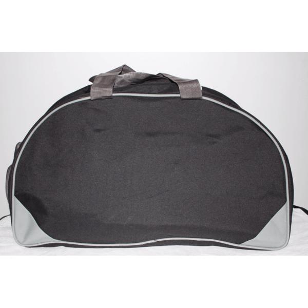 Pu Matty Gym Bag With Shoe Compartment Black