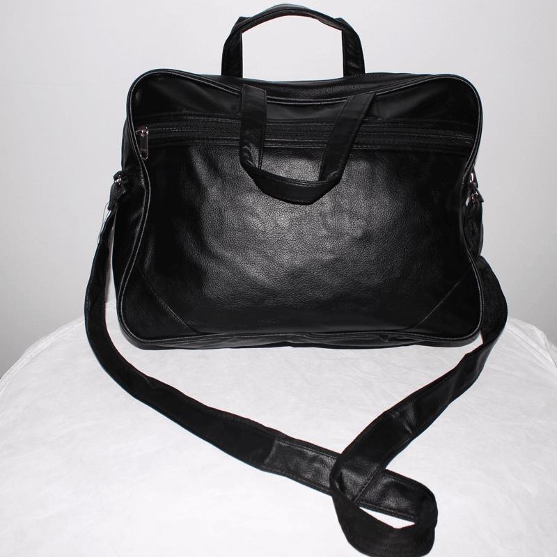 Pu Laptop Bag Korean Black