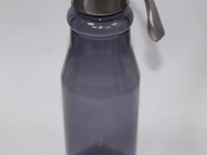 Plastic Bottle With Steel Cap -black 750ml