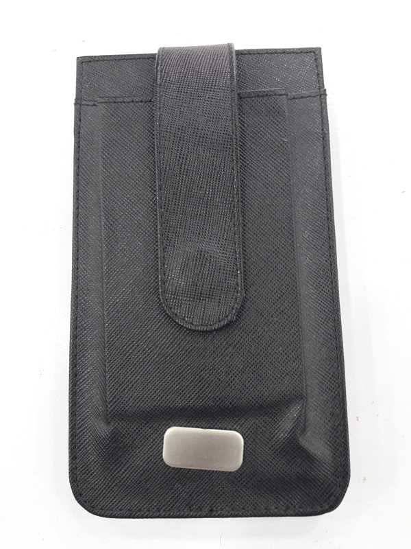 Leather Mobile Case Sheep Nappa Black With Box