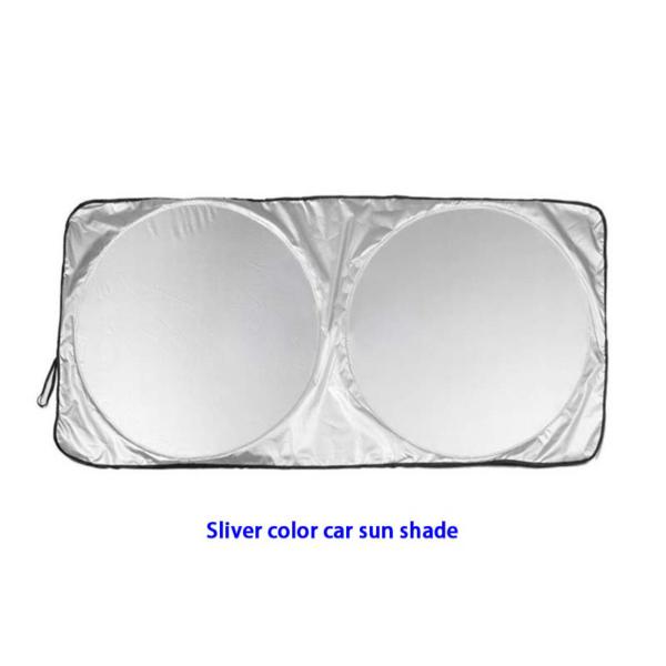 Silver Color Car Sun Shade