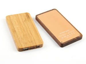 Wooden Power Bank 7800mah