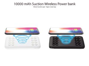 New Suction Wireless Power Bank 10000mah