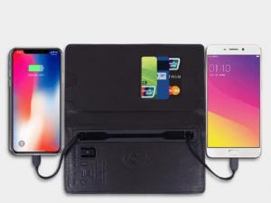 Wallet With Power Bank 8000mah