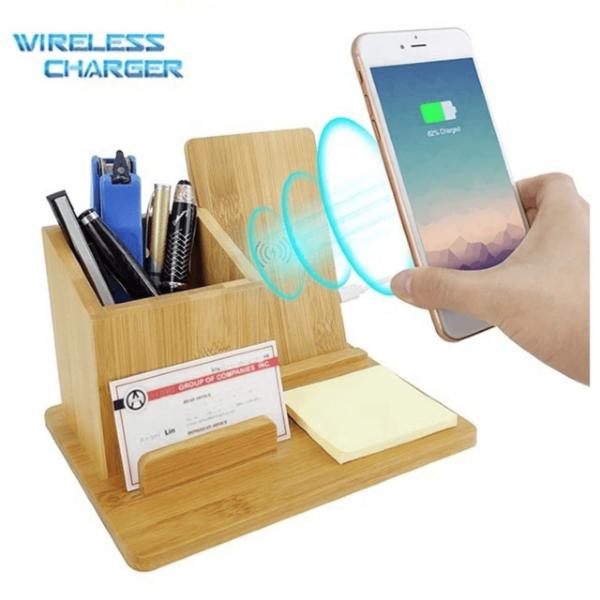 Bamb00 Qi Fast Wireless Charge Stationary Organize