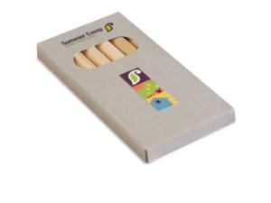 6 Coloured Pencils