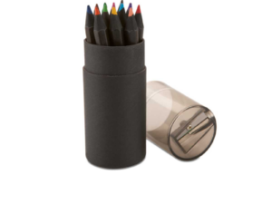 Black Colour Pencils - 12