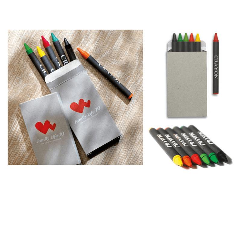 Crayon Box - 6 Pcs