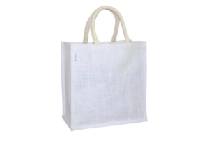 Jute Bag - White