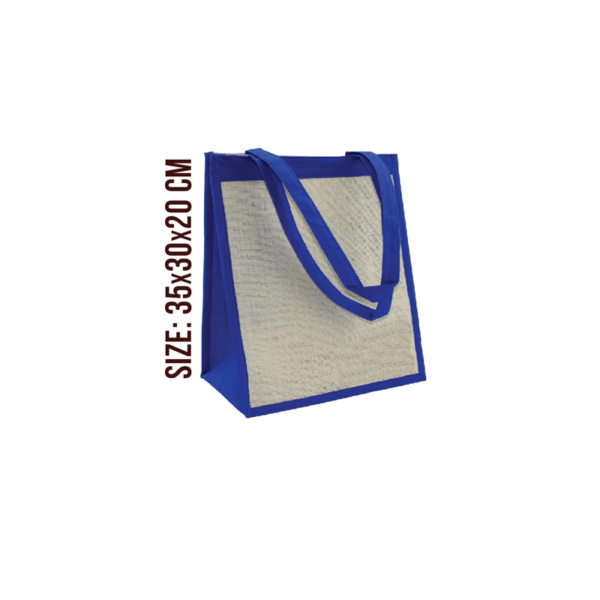 Juno Bag - White Blue