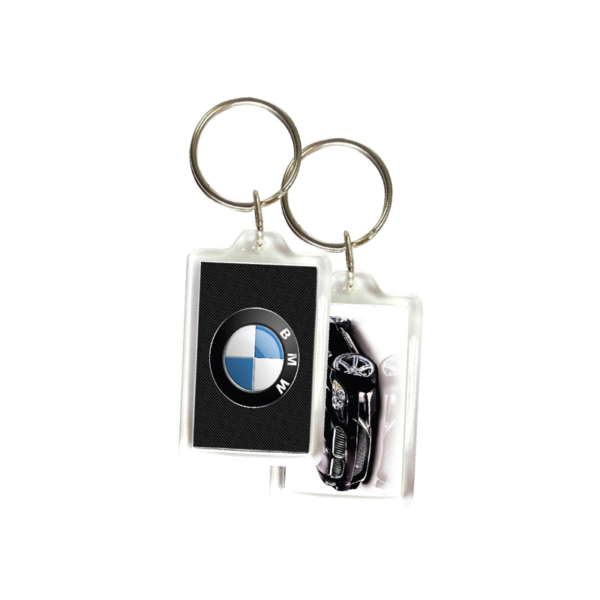 Rectangular Acrylic Keychain