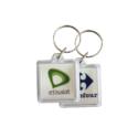 Square Acrylic Keychain