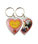 Heart Shape Acrylic Key Chain