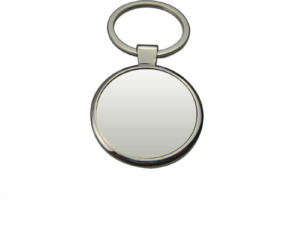 Big Round Metal Key Chain