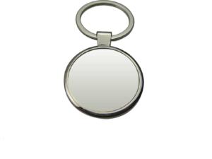Big Round Metal Key Chain