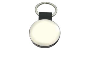 Round Elegant Metal Key Holder